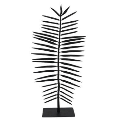 Balis Palm Statue - Matt Black
