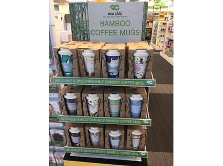 Bamboo coffee mugs