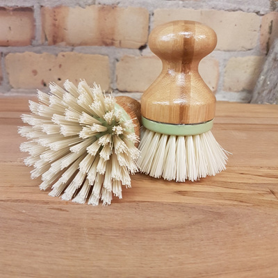 Bamboo Spud Scubbing Brush