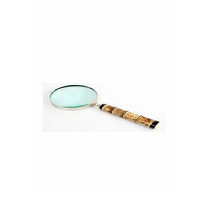 Bamboo Style Magnifier - Nickel Finish