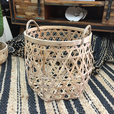 Bamboo Twist Basket