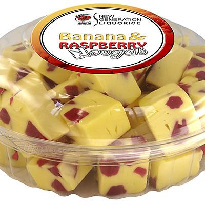 Banana Raspberry Nougat