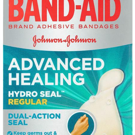 Band-Aid Advanced Healing Hydro Seal Gel Plasters Regular 10 Pack