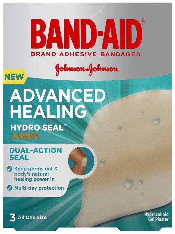 Band-Aid Advanced Healing Hydro Seal Jumbo 3 Pack