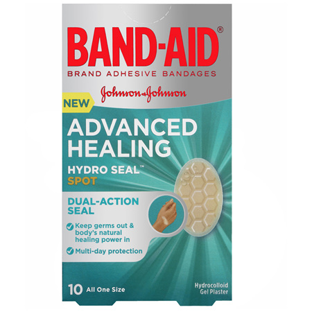 Band-Aid Advanced Healing Hydro Seal Spot 10 Pack
