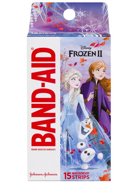 Band-Aid Brand Adhesive Bandages Disney Frozen 15 Pack