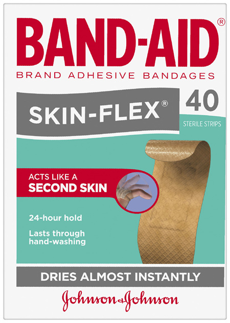 Band-Aid Brand Skin-Flex Strips 40 Pack