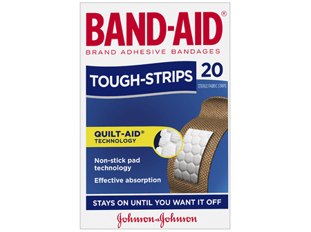 Band-Aid Brand Tough Strips 20 Pack