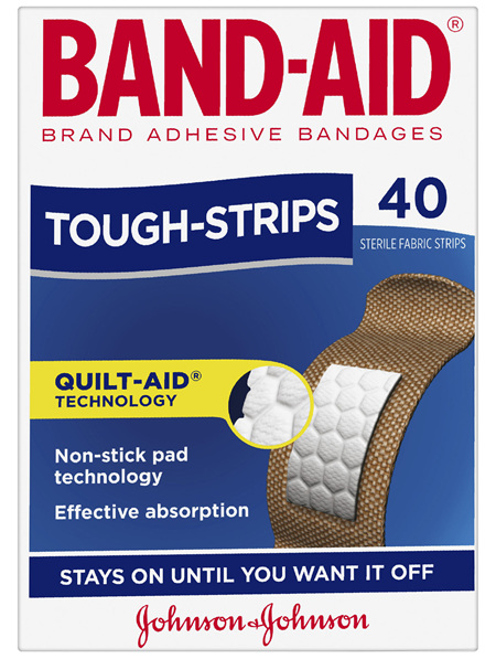 Band-Aid Brand Tough Strips 40 Pack
