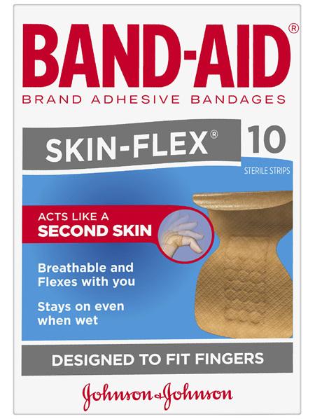 Band-Aid Skin-Flex 10 Pack