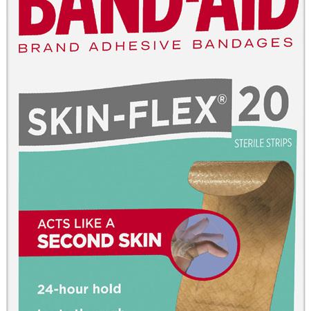 Band-Aid Skin-Flex 20 Pack