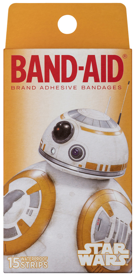 Band-Aid Star Wars Waterproof Strips 15 Pack