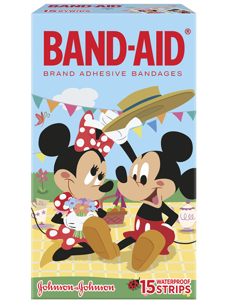 Band-Aid Waterproof Strip 15 Pack