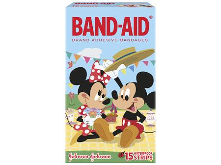 Band-Aid Waterproof Strip 15 Pack