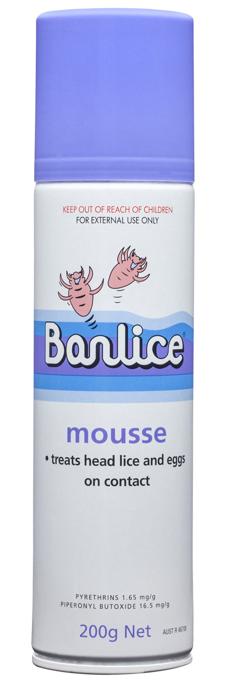 Banlice Mousse 200g