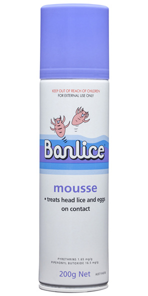 Banlice Mousse 200g