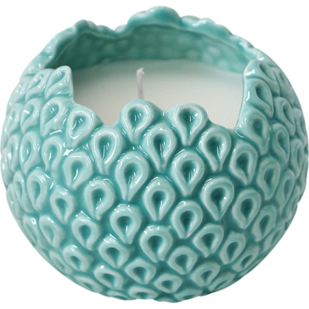 Barnacle Candle Blue