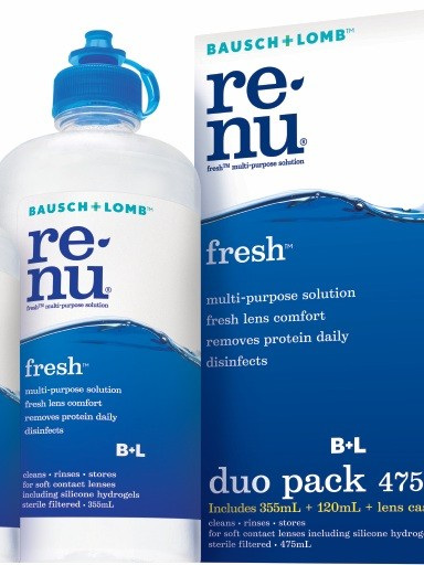 Bausch & L Renu Fresh Duo