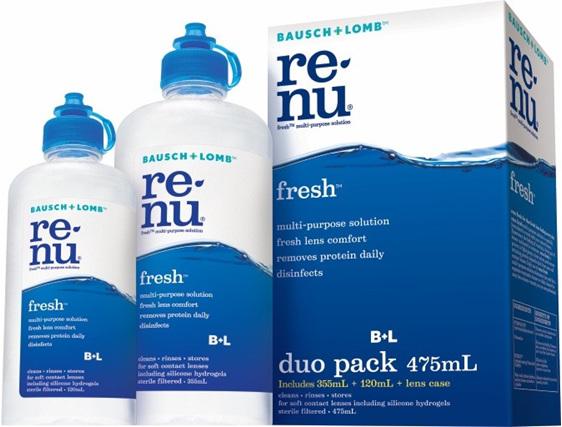 Bausch & Lomb Renu Fresh Duo
