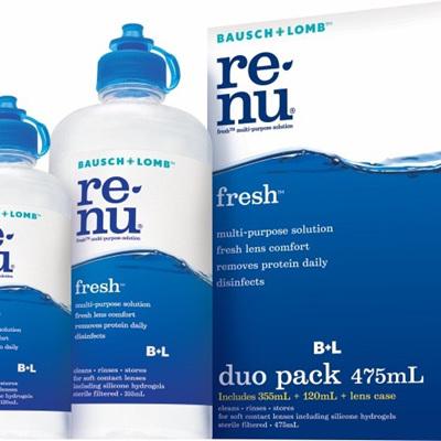 Bausch & Lomb Renu Fresh - Duo Pack
