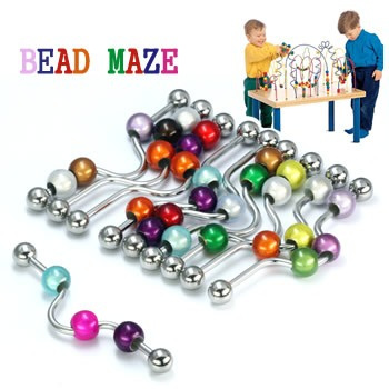 Bead Maze Industrial Barbell