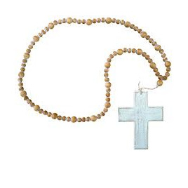 Beads With White Cross