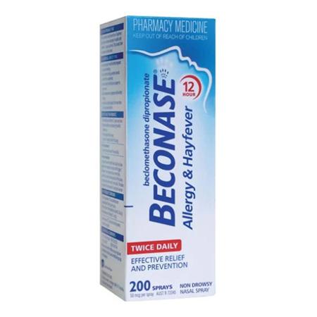 BECONASE Hayfever Nasal Spray 50mcg