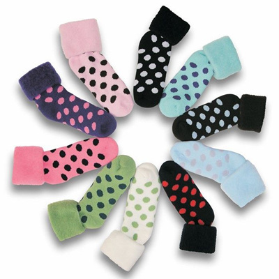 Comfort Bed Socks Spots, One size