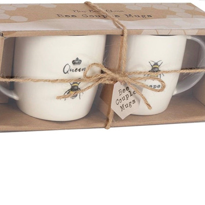 Bee Couple Mug Set