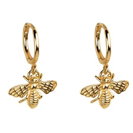 Bee Earrings Gold