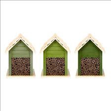 Bee House Green Assorted16x14x21cm