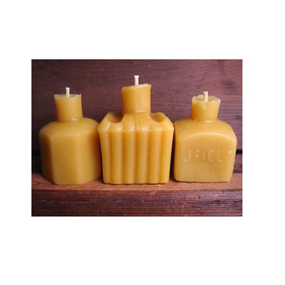 Beeswax Candle Mini Set of 3