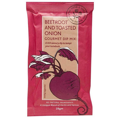 Beetroot and Toasted Onion Dip