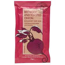 Beetroot & Toasted Onion Dip