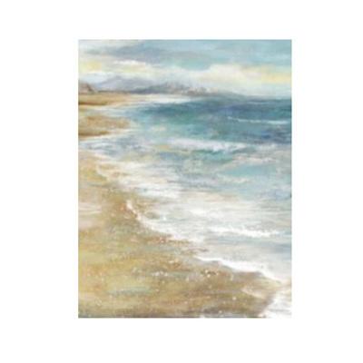 Beige Haze Canvas Print 100 x 100