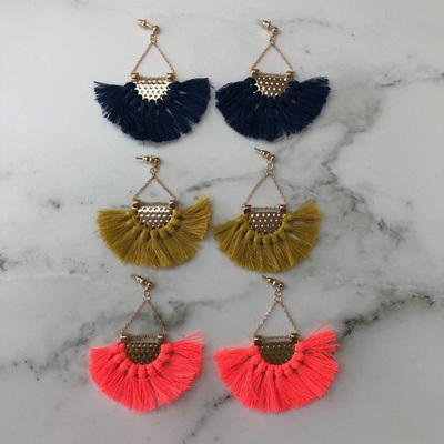 Bella Drop Tassel Earrings