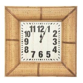 Belle Clock - Woven Frame 60cm
