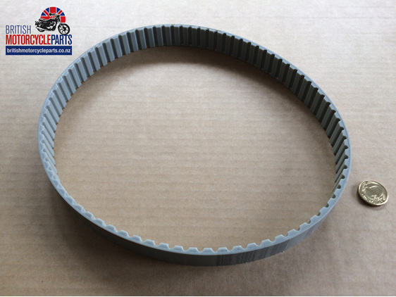 BELT002 Belt Drive Spare Belt - Triumph TR6 T120 - British Motorcycle Parts NZ