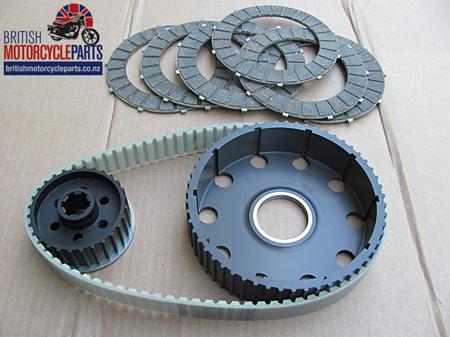 BELT02A Triumph T120 TR6 Belt Drive Kit - Unit