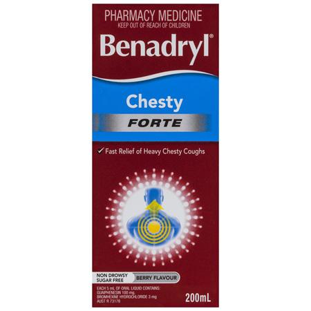 Benadryl Chesty Forte 200mL