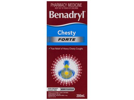 Benadryl Chesty Forte Cough Liquid 200mL