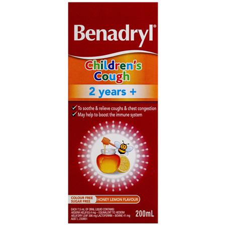 Benadryl Children's Cough 2 Years+ 200mL