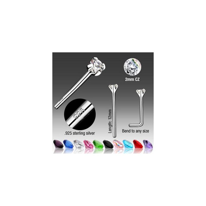 Bendable Fishtail Nose Ring Glamore Piercing