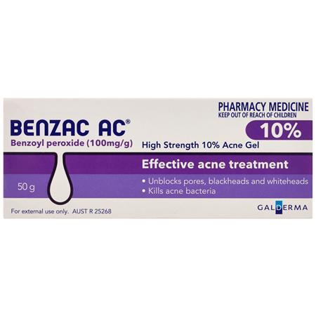 Benzac AC 10% Gel 50g