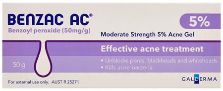Benzac AC 5% Gel 50g