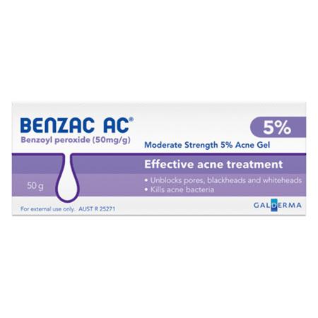 BENZAC Acne Gel 5% 50g