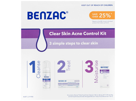 Benzac Acne Kit