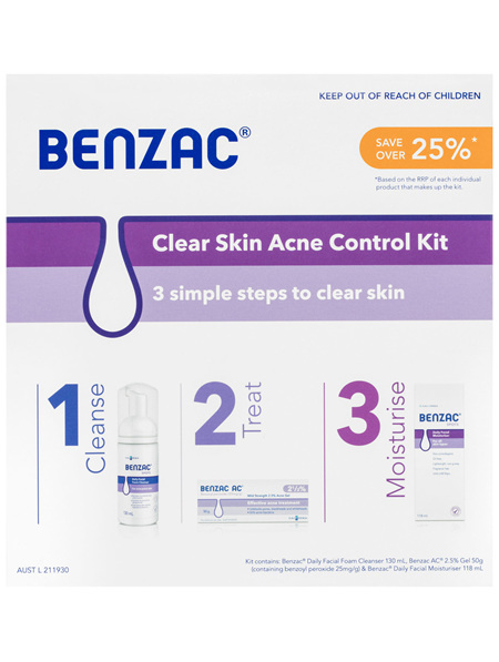 Benzac Acne Kit