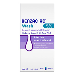 BENZAC Acne Wash 5% 200ml