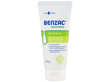 Benzac Blackheads Facial Scrub 60g, Exfoliating Scrub